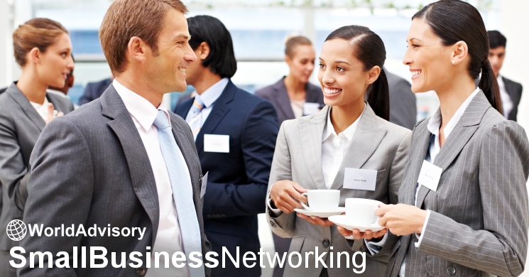 Join Us for World Advisory Small Business Networking – Washington, DC