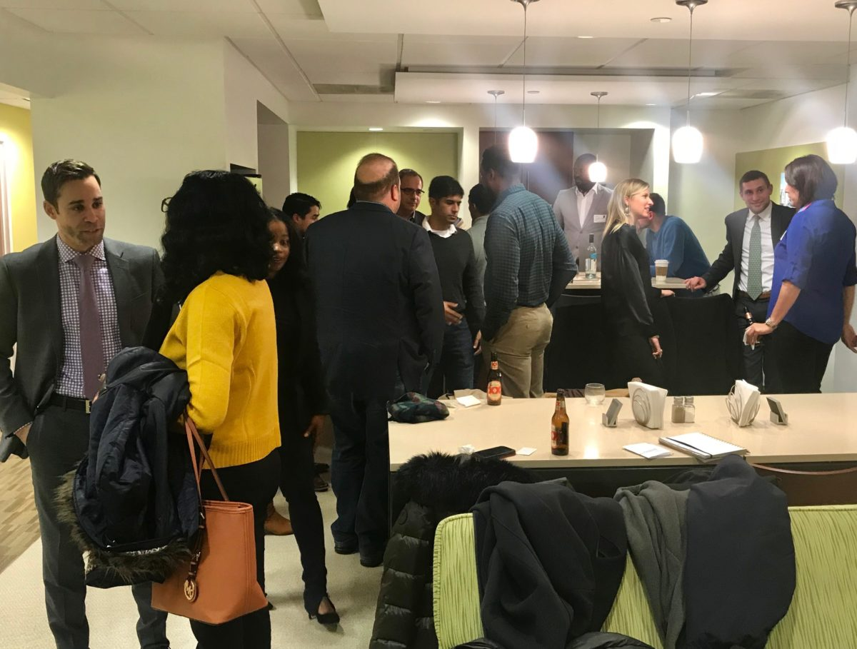 World Advisory Small Business Networking – Washington, DC – 11-28-18