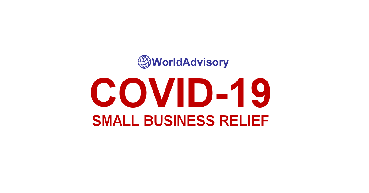 World Advisory – COVID-19 Small Business Relief